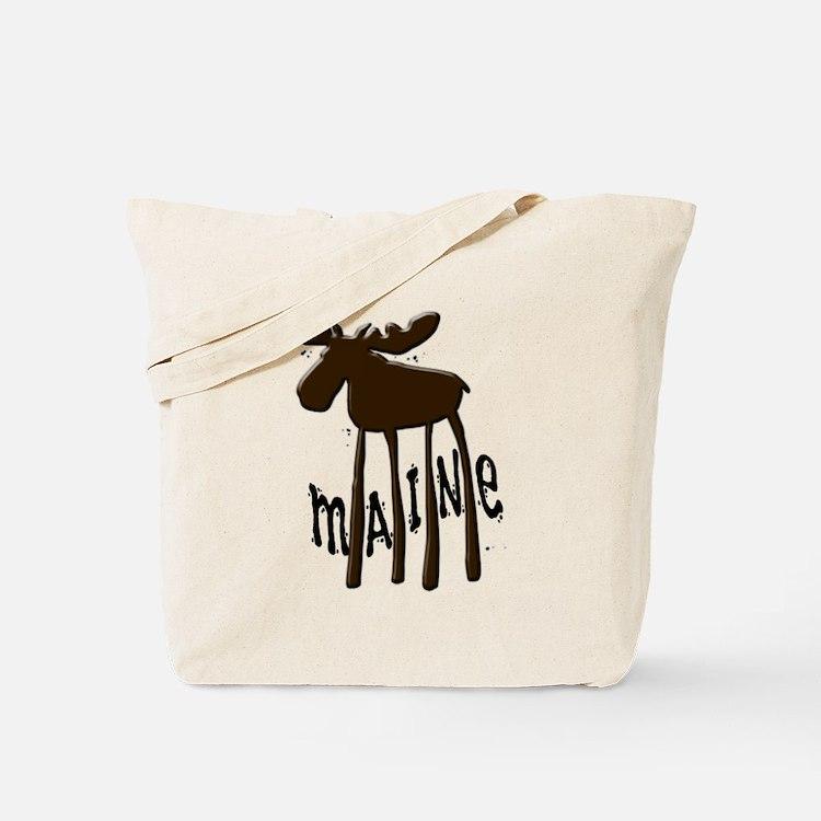Maine Moose Tote Bag