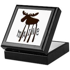 Maine Moose Keepsake Box
