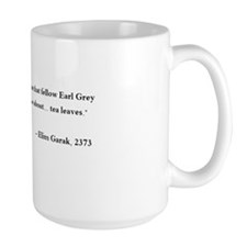 "Garak ""Tea Leaves"" Large Mugs"