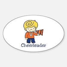 Cheerleader Decal