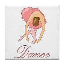 Ballerina Tile Coaster