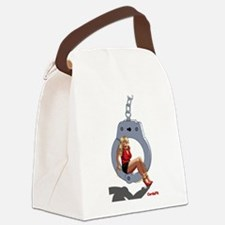 handcuff Canvas Lunch Bag