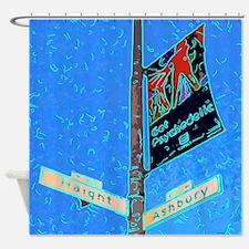 Haight Ashbury Sign Shower Curtain