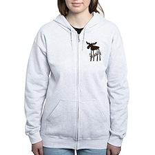 Canada Moose Zip Hoodie