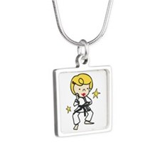 Karate Girl Necklaces