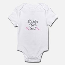 Daddys Little Girl Pink Hearts Body Suit