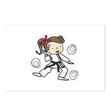 Karate Girl Postcards (Package of 8)