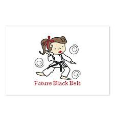 Future Black Belt Postcards (Package of 8)