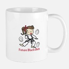 Future Black Belt Mugs