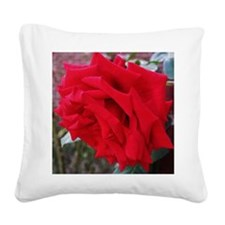 Rose Square Canvas Pillow