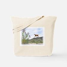 Desert Flower Azawakh Tote Bag