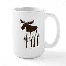 Alaska Moose Ceramic Mugs