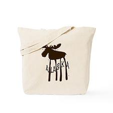 Alaska Moose Tote Bag