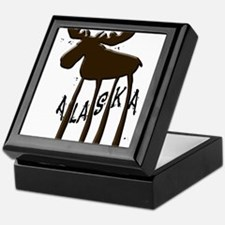 Alaska Moose Keepsake Box