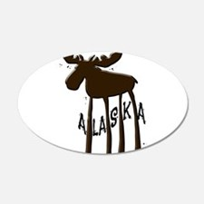 Alaska Moose Wall Decal