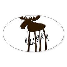Alaska Moose Bumper Stickers