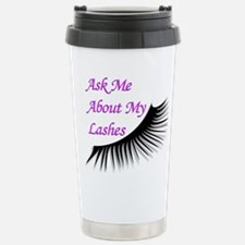 Ask me about my Lashes Travel Mug