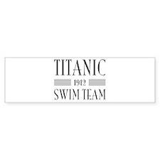Titanic swim team 1912 Bumper Bumper Sticker