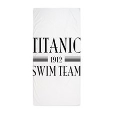 Titanic swim team 1912 Beach Towel
