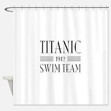 Titanic swim team 1912 Shower Curtain