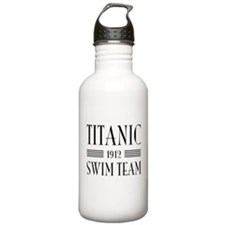 Titanic swim team 1912 Water Bottle