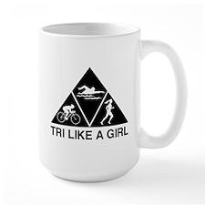 Tri like a girl Mugs