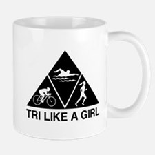 Tri like a girl Mugs