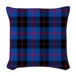 Tartan - Angus dist. Woven Throw Pillow