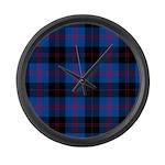 Tartan - Angus dist. Large Wall Clock