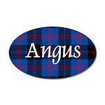 Tartan - Angus dist. 20x12 Oval Wall Decal