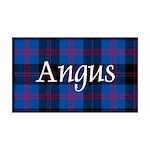 Tartan - Angus dist. 35x21 Wall Decal