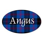 Tartan - Angus dist. Sticker (Oval)