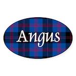 Tartan - Angus dist. Sticker (Oval 50 pk)