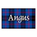 Tartan - Angus dist. Sticker (Rectangle)