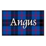 Tartan - Angus dist. Sticker (Rectangle 10 pk)