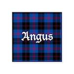 Tartan - Angus dist. Square Sticker 3