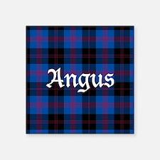 """Tartan - Angus dist. Square Sticker 3"""" x 3"""""""