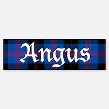 Tartan - Angus dist. Bumper Bumper Sticker