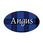 Tartan - Angus dist. Oval Car Magnet