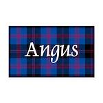 Tartan - Angus dist. Rectangle Car Magnet