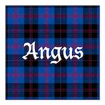 Tartan - Angus dist. Square Car Magnet 3