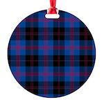 Tartan - Angus dist. Round Ornament