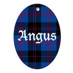 Tartan - Angus dist. Ornament (Oval)
