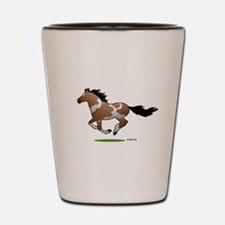 Indian Horse Shot Glass