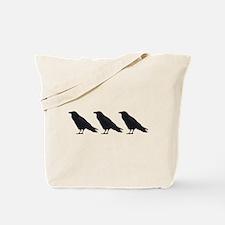 Black Crows Tote Bag