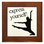 Express Yourself Framed Tile