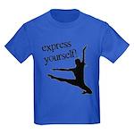 Express Yourself Kids Dark T-Shirt