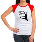 Express Yourself Women's Cap Sleeve T-Shirt