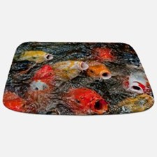 Cute Photography koi Bathmat