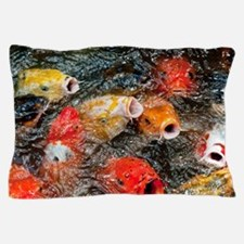 Cool Photography koi Pillow Case